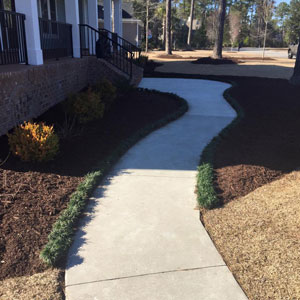 Condo Care mulching project