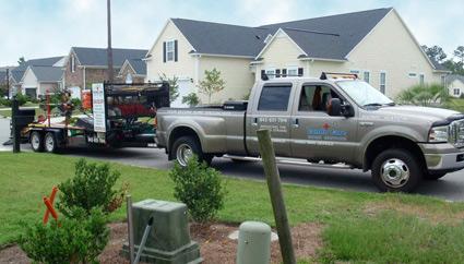 Condo Care Truck and Trailer