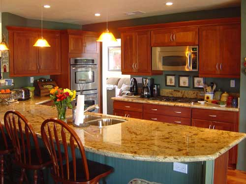 Home kitchen remodeling remodelers in myrtle beach for Beach condo kitchen ideas